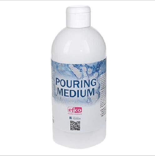 efco 9318300 Pouring Medium Acryl-Hilfmittel für Gießanwendungen, acrylic, farblos, 500 ml