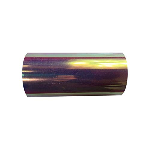 aifengxiandonglingbaihuo 1 Blatt 25cmx100cm Schlangenhaut bunt Laser Wärmeübertragung Vinyl Hologramm PVC Presse T-Shirt Bügeleisen auf HTV, B009-3