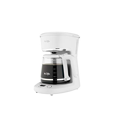 Mr. Coffee 12 Cup White Coffee Maker - Case of: 1;