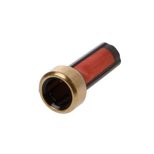 Filtro de combustible, 20 PCS Inyector de combustible Micro Basket Filter para kits de reparación de inyector