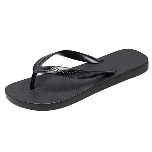 DressLksnf Chanclas para Mujer Sandalias Playa Verano Piscina Ducha Boda Casa Flip Flops Ligeros Clip Toe Zapatillas Casa Regulares Antideslizantes Chanclas