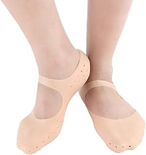 Trending Tail Silicone Socks Silicone Full Size Socks, Moisturizing Socks Foot Anti Cracking Care Socks for Dry Feet Crack...
