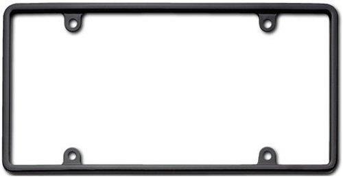 Cruiser Accessories 21350 Slim Rim License Plate Frame, Black