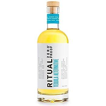 RITUAL ZERO PROOF Tequila Alternative | Award-Winning Non-Alcoholic Spirit | 25.4 Fl Oz  750ml  | Zero Calories | Keto Paleo & Low Carb Diet Friendly | Make Delicious Alcohol Free Cocktails