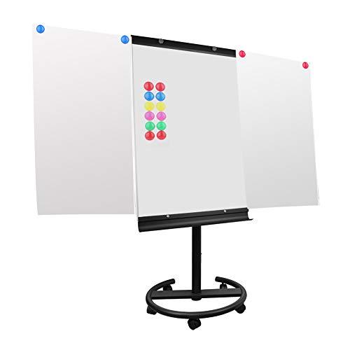 S SIENOC Tableau de trépied portable, mobile paperboard tableau blanc, trépied, avec chevalet whiteboard