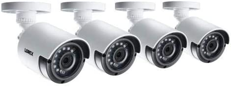 Lorex LAB243-4PK, 2K 4MP HD Bullet Security Camera with Night Vision (Pack of 4 pcs)