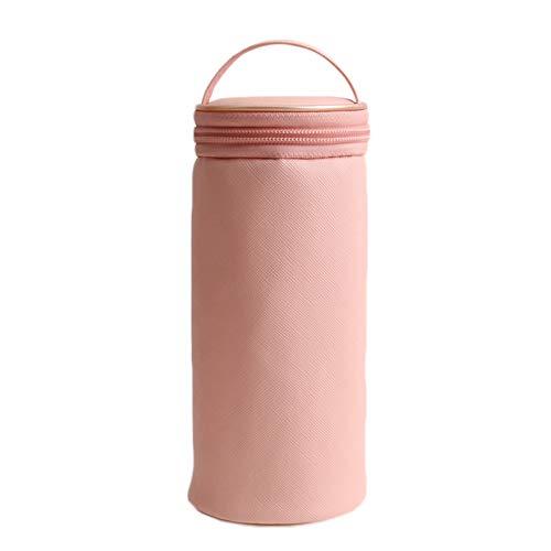 Shouhengda 1. Fassförmige Kosmetiktasche, Reise-Make-up-Taschen, Waschbeutel Make-up-Aufbewahrungsbeutel für Veranstalter mit Orientigem, haltbarem Material