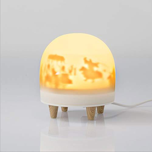 Lámpara Escritorio Regalo de cumpleaños del museo linterna Xingle lanzamiento ligero luz de la noche de la lámpara del dormitorio del LED Museo regalo creativo del estilo chino creativo for la novia L