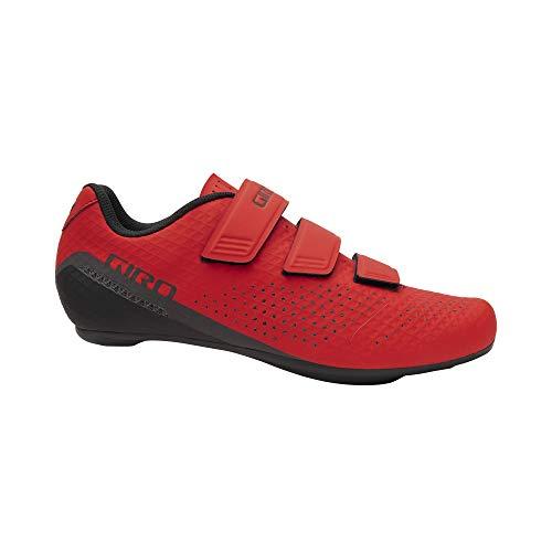 Giro Stylus 2021 - Zapatillas de ciclismo de carretera para hombre, color rojo brillante, talla 50