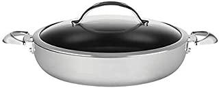 SCANPAN CTP Covered Chef Pan, 5.5 Quart