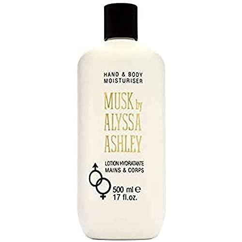 Alyssa Ashley MUSK - Lozione corpo e mani al muschio, 500 ml