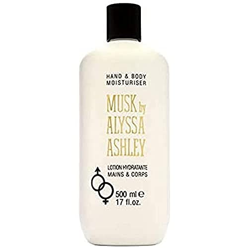 Alyssa Ashley Musk Hand & Body Moisturiser 500 ml