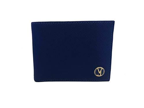 Versace Jeans E3YRBPB1 - Cartera con tarjetero, color azul