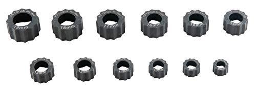 KS Tools 913.1415 Jeu d'extracteurs d'écrous spéciaux, 12 pcs, Noir/Rouge, TLG