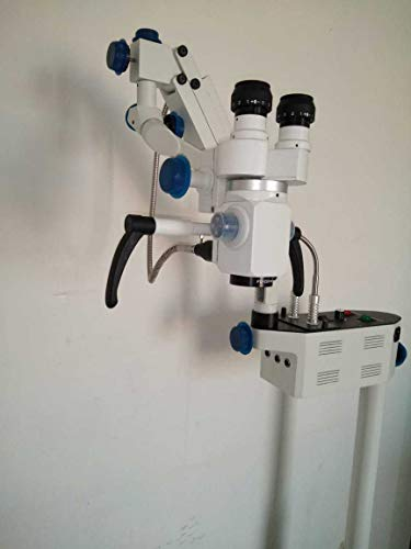 3 Step Floor Stand Surgical Ent Microscope Manual Fine Focusing