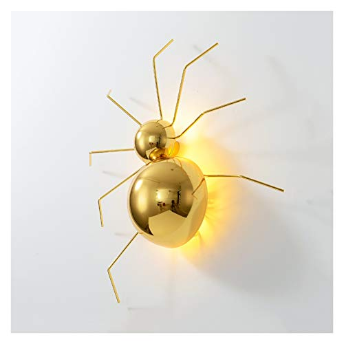 Apliques de Pared Fondo posmoderno Lámpara de pared Luz de lujo de lujo araña araña luz de pared decorativa dorada lámpara de pared para sala de estar Aisle Restaurant Cafe Aplique Ajustable