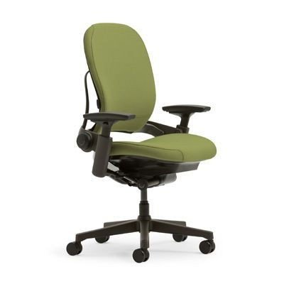 Steelcase Leap Office Chair - Celery with Black Base