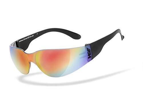 HSE SportEyes Sprinter 2.0 Sonnenbrille Orange/Blau