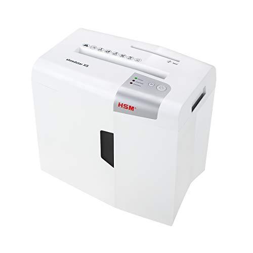HSM shredstar X5 Aktenvernichter, Sicherheitsstufe P-4, 5 Blatt (Partikelschnitt) mit CD-Schredder