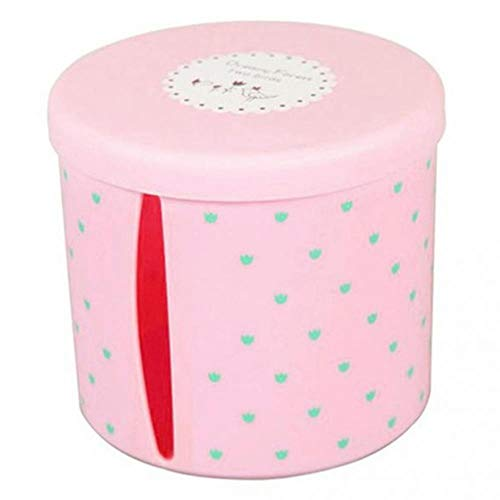 JUECAN Cajas de pañuelos de plástico Impermeables Redondas, portatarjetas de Papel higiénico,...