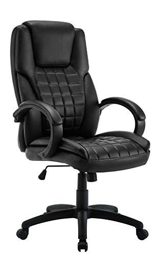 IntimaTe WM Heart Chaise de Bureau exécutive, Design Ergonomique avec Dossier Haut réglable à 360° Rotatif, Grand siège et Coussins Confortables, Cuir...