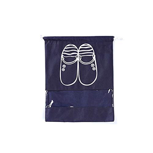 GFCGFGDRG Chaussures en Plein air Accueil Sac Pochette Sac de Rangement Voyage Portable fourre-Tout Organisateur Couverture Drawstring Non-tissé Lave-Linge