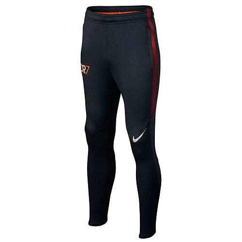 Nike Kinder CR7 Y NK Dry Squad Pants KP Fußball Trainingshose, Schwarz/Track rot/Metallisches blau, M