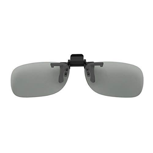 KoelrMsd Professionelle 3D-Leichtgewicht Mann Frau Clip-On-Typ Passive kreisförmige 3D-Brille Clip für 3D-TV-Film Kino