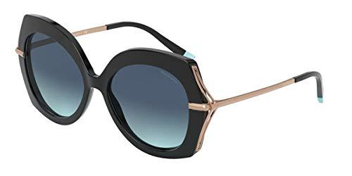 Occhiali da Sole Tiffany WHEAT LEAF TF 4169 Black/Blue Shaded 54/16/140 donna
