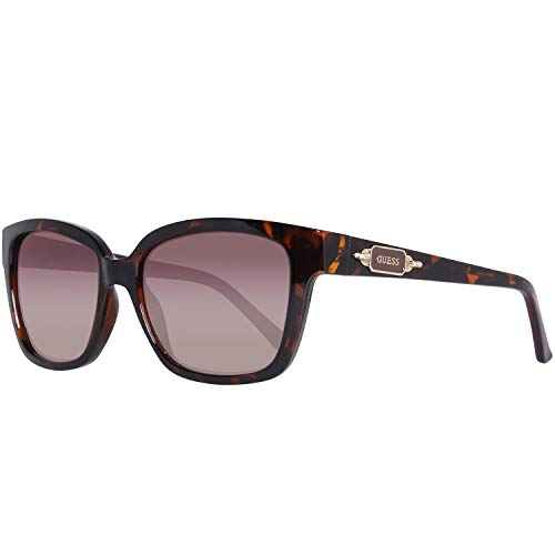 Guess GF601452F55 GF601452F55 Groß Sonnenbrille 52, Braun
