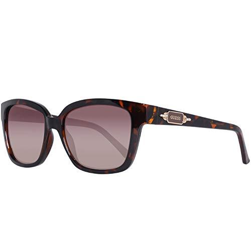 Guess GF6014-5552F Gafas de sol, Brown, 55 para Mujer