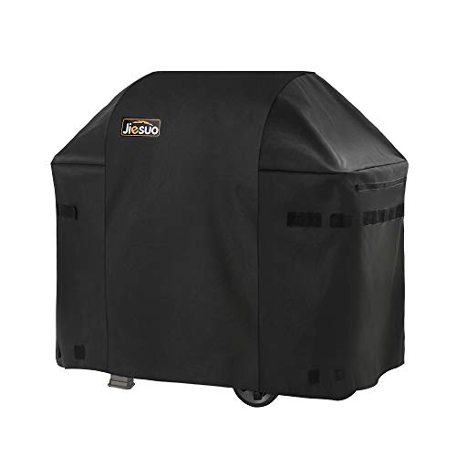 JIESUO BBQ Gas Grill Cover for Weber Spirit and Spirit II 210: Heavy Duty Waterproof 48 Inch 2...