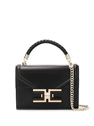Elisabetta Franchi Luxury Fashion Donna BS38A01E2110 Nero Pelle Borsa A Mano   Primavera-estate 20
