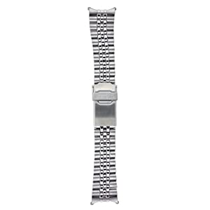 Fashion Shopping Seiko Original Stainless Steel Jubilee Watch Band 22mm and Genuine Seiko Spring Bars