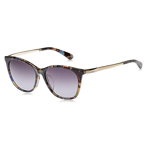 Kate Spade Women's Sunglasses - Caileigh IPR - Havana Blue/Grey Lens (54-16-140)