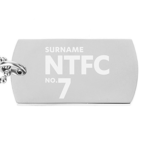 Personalised Official Northampton Town FC Number Dog Tag Pendant
