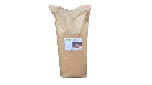 CARBOGARDEN Premium Buchen Grill-Holzkohle, OHNE Tropenholz aus Deutscher Produktion, 10 kg