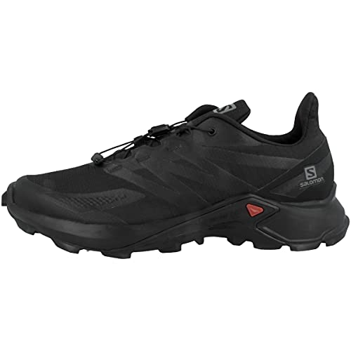 SALOMON Calzado Bajo Supercross Blast, Zapatillas de Trail Running Hombre, Black/Blac, 44 2/3 EU