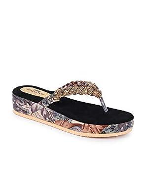ZAPATOZ Women's Multicoloured Design Stylish Heels