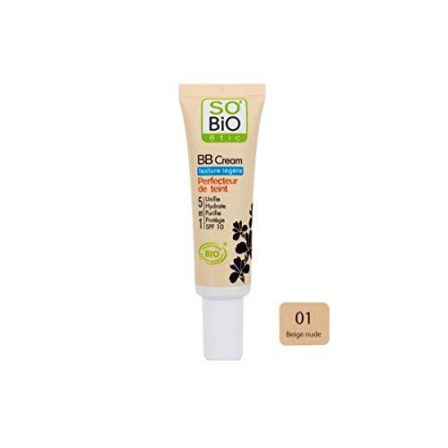 So Bio Etic BB Cream Texture Légère Perfecteur de Teint 5 en 1 01 Beige Nude 30ml