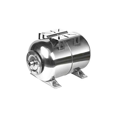 Druckkessel Edelstahl | 50 Liter Membrankessel | Druckbehälter Hauswasserwerk Druckspeicher