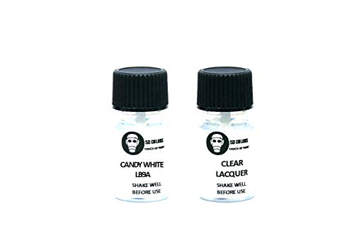 SD COLORS LB9A - Pintura de retoque (5 ml), Color Blanco
