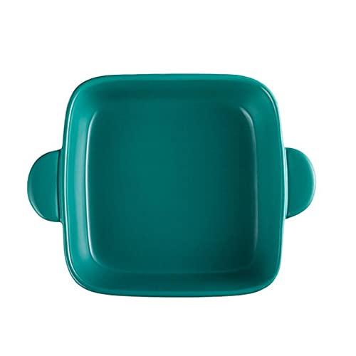 1 Piece Sheet Pan Cake Pans Binaural Ceramic Bakeware Non-Stick Baking Coating Mold Green