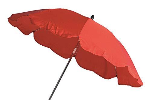 HABERKORN 9003763032234 Kinderwagenschirm Universal 70 cm UV rot - Sonnenschirm und Regenschirm...