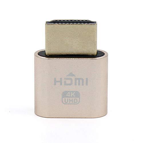 LeHang 2H HDMI DDC EDID Dummy Plug 3840x2160 @ 60Hz Neues virtuelles VGA-Display