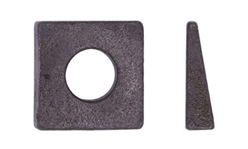 U-Turn - 1/2 Square Beveled Washer Malleable Plain (5 Pack)