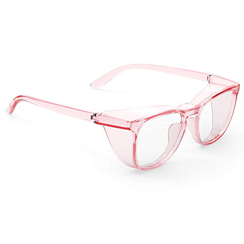 TOREGE Safety Goggles, Stylish Safety Glasses With Anti-Fog And Anti-Blue Light Lense,Light And Comfortable,Perfect Alternatives To Regular Protective Eyewear,Great Goggles For Nurses.