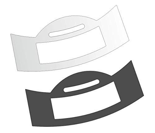 3 x Schutzfolie für Jura E-Line - E6 - Modell ab 2019 Tassenablage, Abtropfblech, Tassenplattform