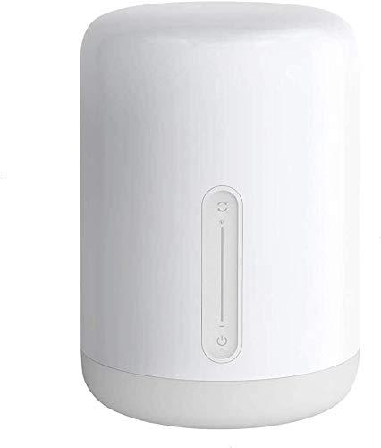 Originale Yeelight Lampada RGB da Comodino, Wanfei WIFI di 2nd Generazione e Luce Notturna Bluetooh Smart con Touch & Voice Control Interruttore Multicolore per Apple Homekit & Siri