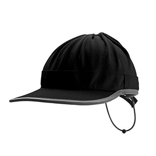 YaLuoUK Multifunktionale atmungsaktive Sonnenschutzkappe für Herren, leichte Sportmütze mit Sonnenbrille, Stöpsel Löcher, Staubschutz, Reisebegleiter
